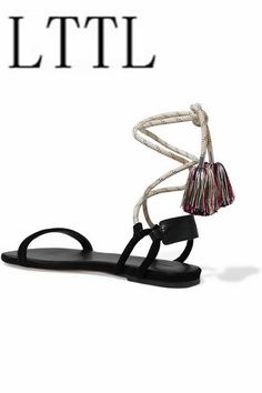 69.29$  Buy here - http://aip2l.worlditems.win/all/product.php?id=32789452346 - real picture women sandals flats mixed colors fringe women's sandals ankle strap sammer ladies shoes sandalias mujer beach shoes