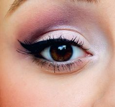 A light Pink Eyeshadow Look for the girls with brown eyes ❤️