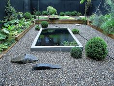 Pergola over pond koi ponds pinterest pergolas and ponds for Rectangular koi pond