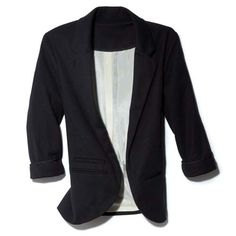 One of Jessica Alba's secret places to find great fitted blazers? The boys' section at Brooks Brothers!