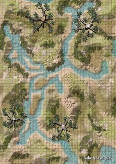 Fantasy City, Fantasy Map, Medieval Fantasy, Forest Map, Pathfinder Maps, Rpg Map, Map Maker, Dungeon Maps, Fantasy Setting