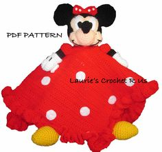 Instant PDF Pattern Crochet Minnie Mouse by Lauriescrochetrus, $6.00