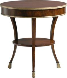 This Rosewood table elevates an entire room, whether English, French or Italian..  A remarkable side table, at its best in traffic, for the living or bedroom.
