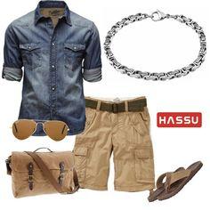 "Conforto e estilo num só look! :) Gostam? Pulseira "" Fashion Foward"" da HASSU"