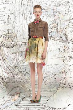 Платья беби-долл от Red Valentino SS 2013 - AN* - Жемчужины моды