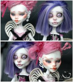 Pink and Violet by ~kamarza on deviantART