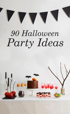 From spooky decorations to delicious treats, we've put together 90 Halloween party ideas to make yours a thrilling success.