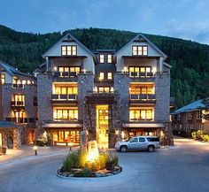 Element 52 nightly glow. Complimentary car service takes you anywhere in Telluride.
