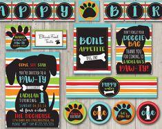 Puppy birthday party invitation printable puppy birthday invite hey i found this really awesome etsy listing at httpsetsylisting290853915puppy birthday pawty kit birthday day filmwisefo