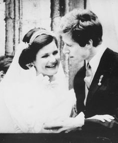 misshonoriaglossop:  Wedding of Princess Margaretha of Luxembourg and Prince Nikolaus of Liechtenstein at Notre Dame Cathedral in Luxembourg, March 20, 1982.