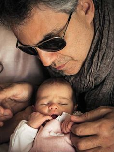 Andrea Bocelli Introduces His Beautiful Daughter   (Virginia) To The World