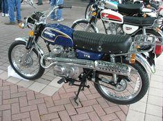 Flawless Honda CL175 Scrambler