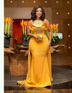 I'm naturally endowed - Joselyn Dumas - SmileCelebs African Attire, African Wear, African Fashion Dresses, African Dress, African Style, Prom Dresses Under 50, Prom Dresses For Sale, Wedding Dresses, Evening Party Gowns