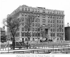 Allegheny General Hospital, North Side, Pittsburgh, 1908