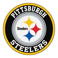 printable pittsburgh steelers logo nfl logos pinterest rh pinterest com images of pittsburgh steelers logo Black and White Steelers Logo
