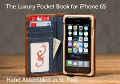 Luxury Pocket Book for iPhone® 6S