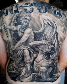 75 TATUAJES DE ANGELES DE LA GUARDA Y SU SIGNIFICADO