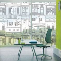 Decowall Window Film, Decorative Privacy Window Film / Frosted Window Film / Safety Window Film / Security Window Film