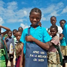 """Hortência Daniela is a lucky girl. She is a first grade student at the EPC Parta Primary School in Angoche, Nampula, and already participating in Physical education and sports classes.  """"I like to play banana and entrada,"""" says Hotência mentioning some of her favourite traditional games, which she and her friends use to play during Physical Education classes.  Read more www.unicef.org/mozambique/resources_13063.html"""