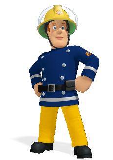 une carte d anniversaire sam le pompier endroits visiter pinterest sam le pompier sam. Black Bedroom Furniture Sets. Home Design Ideas