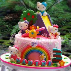Hello Kitty Cake Topper Cake Hello Kitty Cake Hello
