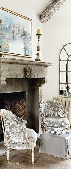 French Country Home | French Country Life (Chairs!)