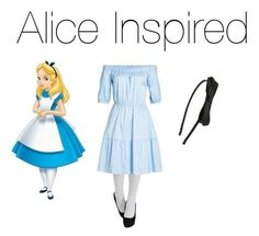 """""""Alice Inspired!✨"""" by jazzrodgers ❤ liked on Polyvore featuring HUGO and Tasha"""
