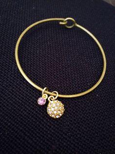 A personal favorite from my Etsy shop https://www.etsy.com/listing/238001169/june-light-amethyst-charm-bracelet