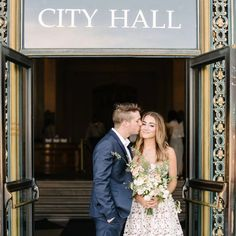 There are many reasons you might want to have your wedding in registry office. You may want to keep costs down or maybe you just want an intimate ceremony. But, having your wedding in a town or city hall doesn't mean it can't be beautiful. Here are a few ways you can make a registry office ceremony the wedding of your dreams.