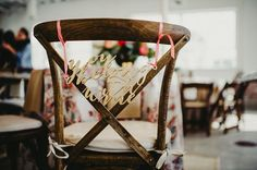 laser cut chair decor  #weddingideas