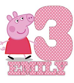 Wanda, this one we can do at home ... if we had ink and the iron on paper stuff. Printable DIY peppa pig  birthday any age  . Iron by birdofthemoon, $5.00