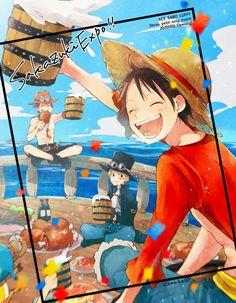 One Piece New World, One Piece Meme, One Piece Crew, Nami One Piece, One Piece Comic, One Piece Fanart, One Piece Swim, Photo Trop Belle, Ace Sabo Luffy