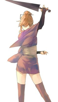 Find images and videos about art, anime and manga on We Heart It - the app to get lost in what you love. Anime Oc, Manga Anime, Female Characters, Anime Characters, Samurai, Gintama, Desu Desu, Art Manga, Okikagu
