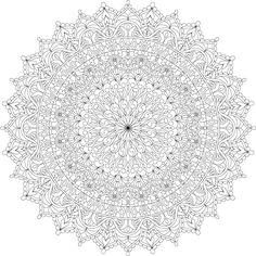 Malvorlagen Warm Soul Mandala von Varda K. Mandala Coloring Pages, Coloring Book Pages, Printable Coloring Sheets, Zentangle Patterns, Zentangles, Mandala Art, Pattern Art, Bunt, Celtic