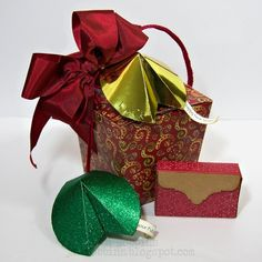 Sometimes during the holiday rush, you need to make a last minute gift box, or even a last minute gift box set. Don't fret if this happens to you this coming year- Jan Hobbins has some gift box goodies up her sleeve with some dies from Where Women Cook!