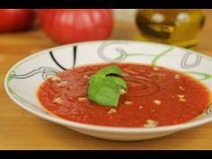 ▶ Krem z pomidorów i papryki - Video-Kuchnia.pl - YouTube