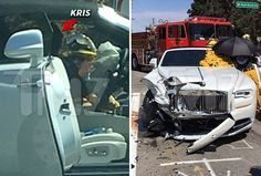 Update: Kris Jenner Involved In Car Crash With Possible Wrist Injury