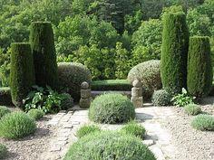 Voyage dans le Lubéron : le jardin de La Louve