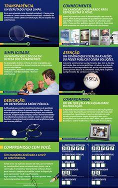 7 razões - Deputado Ismael dos Santos on Behance