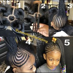 Tresses pour enfant How To Stop Your Dog From Digging Holes In Your Garden Guess what? Lil Girl Hairstyles Braids, Toddler Braids, Black Girl Braided Hairstyles, Black Kids Hairstyles, Braids For Kids, Girls Natural Hairstyles, Weave Hairstyles, Short Hairstyles, Kid Braids
