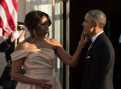 Pin for Later: Michelle Obama Just Nailed the Off-the-Shoulder Trend