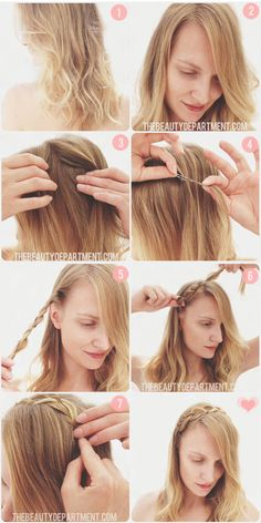 Our latest braid tutorial is up! Enjoy our newest summer do how to. :)