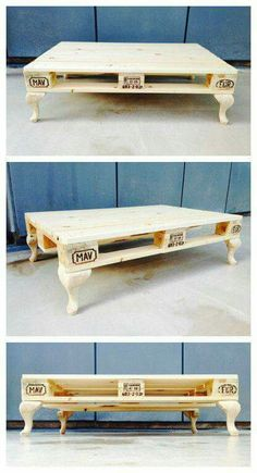 Pallet furniture is 99% awful and tacky and this is one of the few designs that isn't terrible