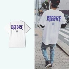 Bieber white tee Men Street, Street Wear, Love Justin Bieber, Online Shopping Mall, Whats New, Mens Clothing Styles, White Tees, Fashion Outfits, How To Wear