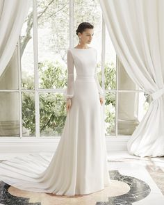 Antique Wedding Dresses, Western Wedding Dresses, Wedding Dresses Photos, Long Wedding Dresses, Bridal Dresses, Bridesmaid Dresses, Long Sleeve Wedding, Wedding Dress Sleeves, Lace Wedding