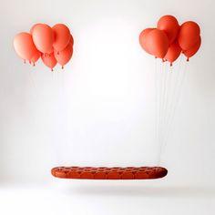 Balloon Bench: Die schwebende Bank [LangweileDich.net]