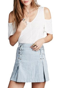 f6f26e5a212f1a Free People Bittersweet Cold Shoulder Top