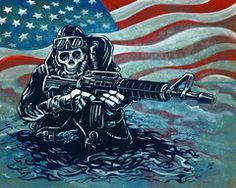 US Navy SEAL on www.DavidLozeau.com