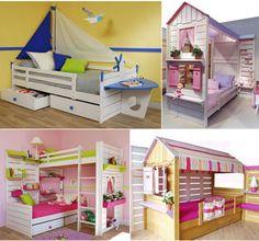 Doğayı evin içine getiren renkli ve sevimli çocuk odaları