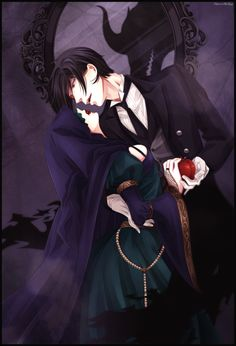 Find images and videos about anime, kuroshitsuji and black butler on We Heart It - the app to get lost in what you love. Sebastian X Ciel, Black Butler Sebastian, Black Butler Ciel, Black Butler Kuroshitsuji, Ciel Phantomhive, Anime Art Girl, Anime Guys, Manga Anime, Jing Y Jang